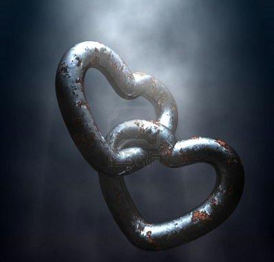 imagen de cadena y amor